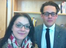 Julia Schramm und Konstantin v. Notz (Foto: Benjamin Stöcker, cc by-sa)