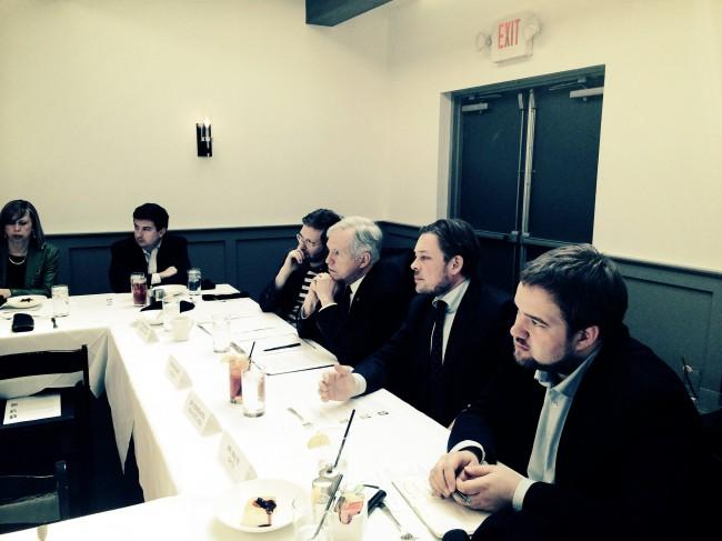 USA Reise März 2014 Gespräch im US Kongreß